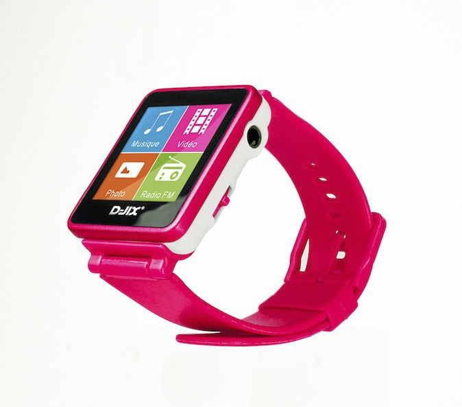 Baladeur MP3, D-JIX D-Watch 54 €
