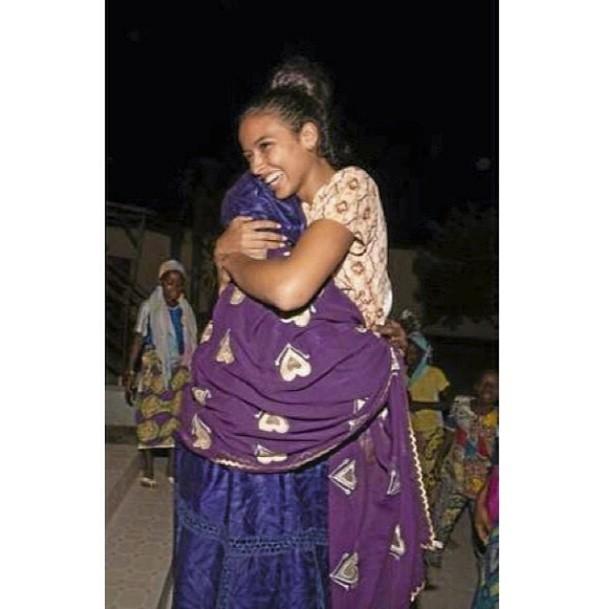 """Mars 2014 """"J'ai retrouvé ma grand-mère au Bénin, où je n'étais pas retournée depuis mes 12 ans !"""""""