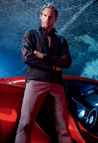 Jenson Button pour Hugo BOSS Spring 2013