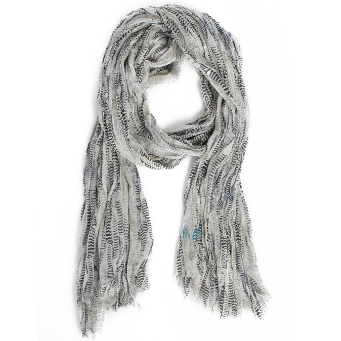 Foulard bahamas feather tiger, Zadig & Voltaire, 180€
