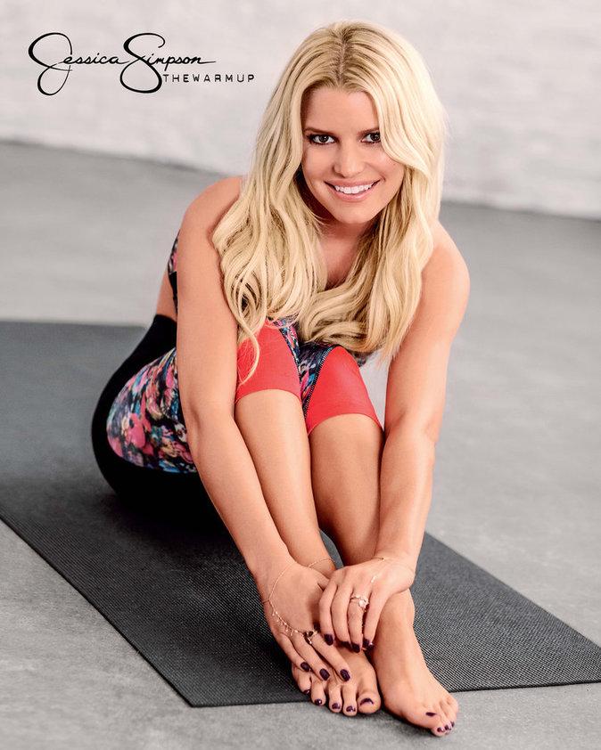 Jessica Simpson : elle va vous donner envie de faire du sport !