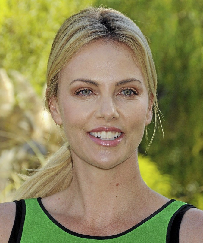 A- Charlize Theron !