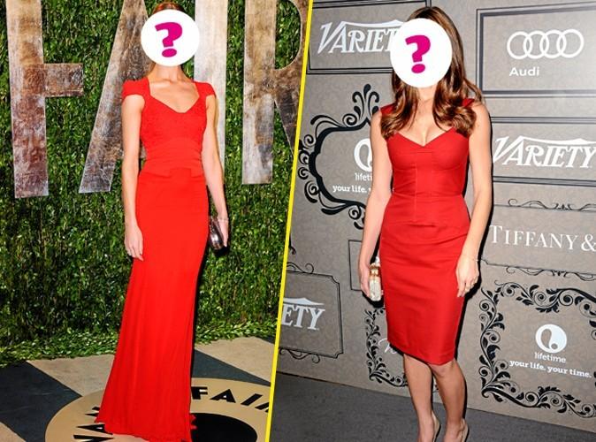 Jeu : Qui se cache derrière cette robe rouge ?