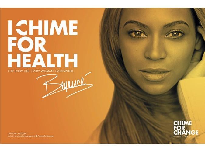 Beyoncé pour Chime for Change.
