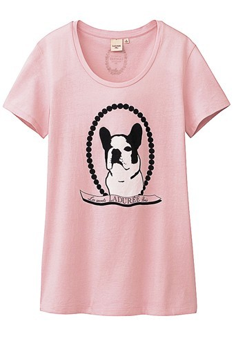 Tte-shirt issu de la collaboration entre Uniqlo et Ladurée !