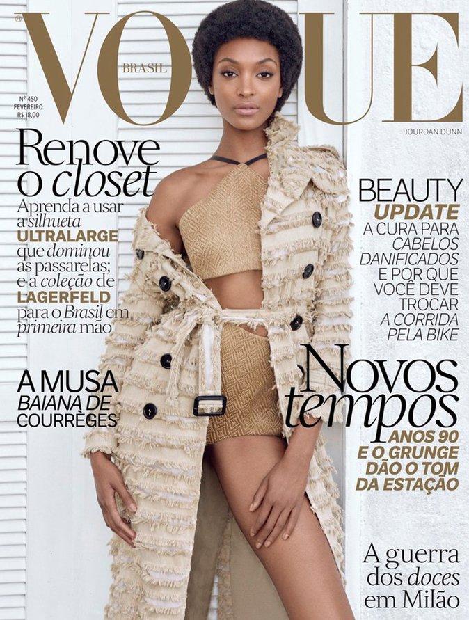 Jourdan Dunn pour Vogue Brésil