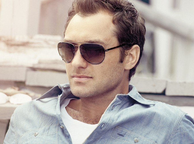 Jude Law pour la campagne de Vogue Eyewear