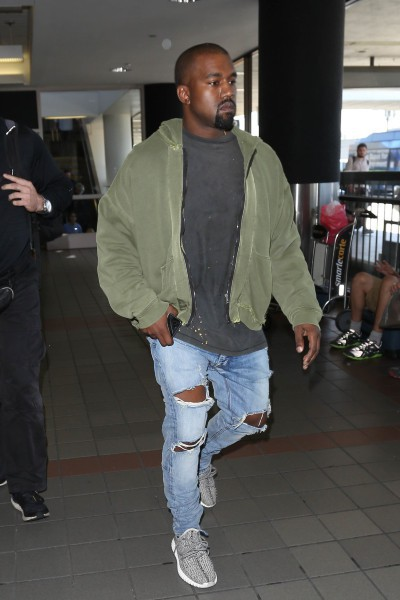 Kanye West pour Adidas
