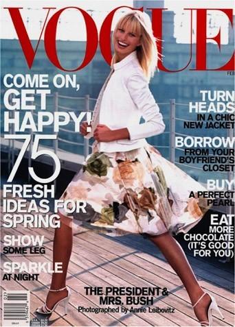 Karolina Kukova en couverture du Vogue !