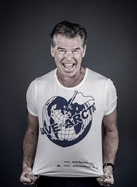 Pierce Brosnan pour Save The Arctic