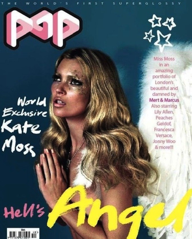 Kate Moss pour Pop