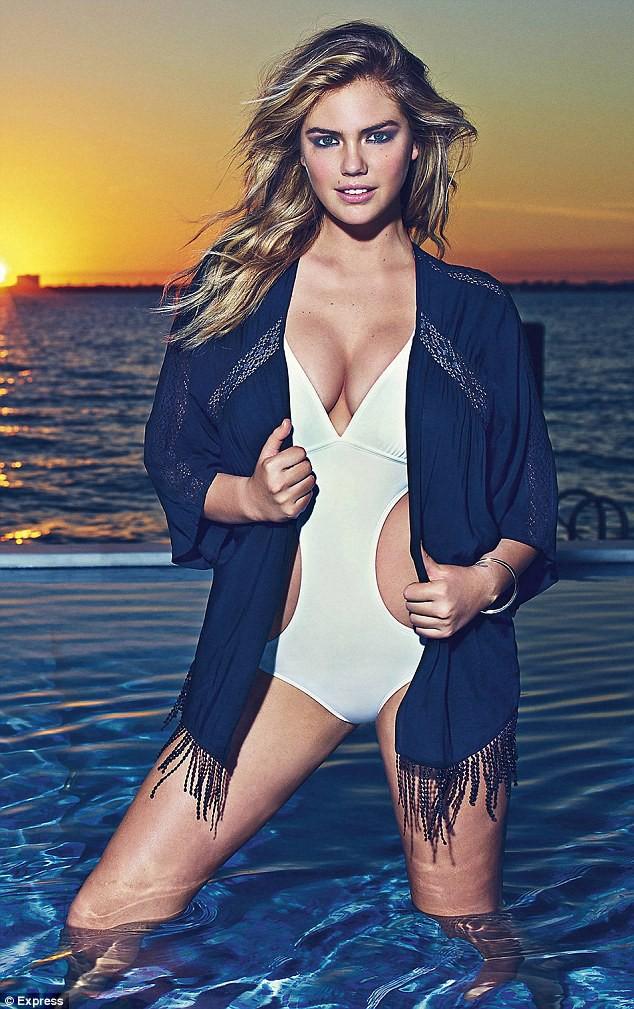 Photos : La bombe Kate Upton, super sexy pour la nouvelle collection Express !