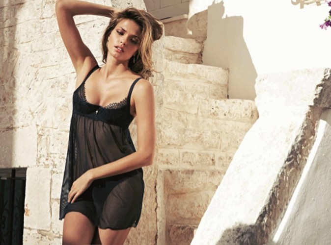 Katsia Zingarevich ultra sexy pour Intimissimi !
