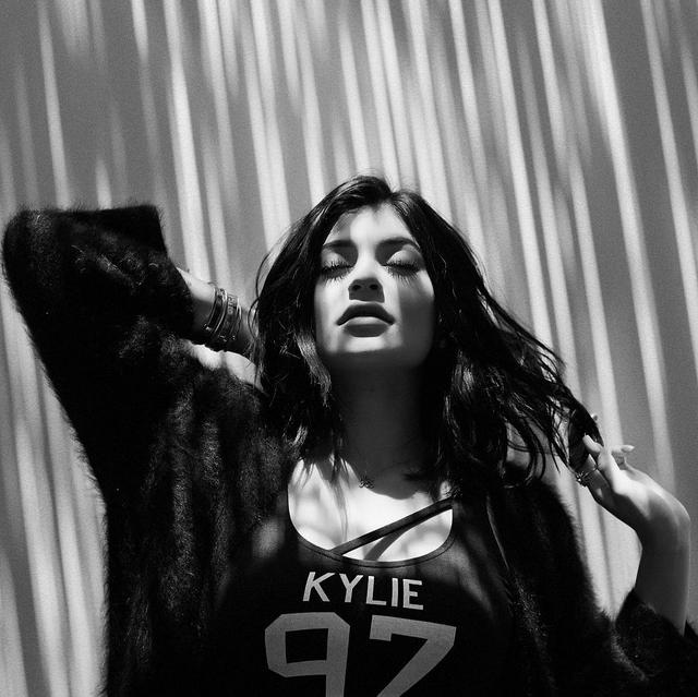 Kylie Jenner et sa nouvelle création pour kendall-kylie.com