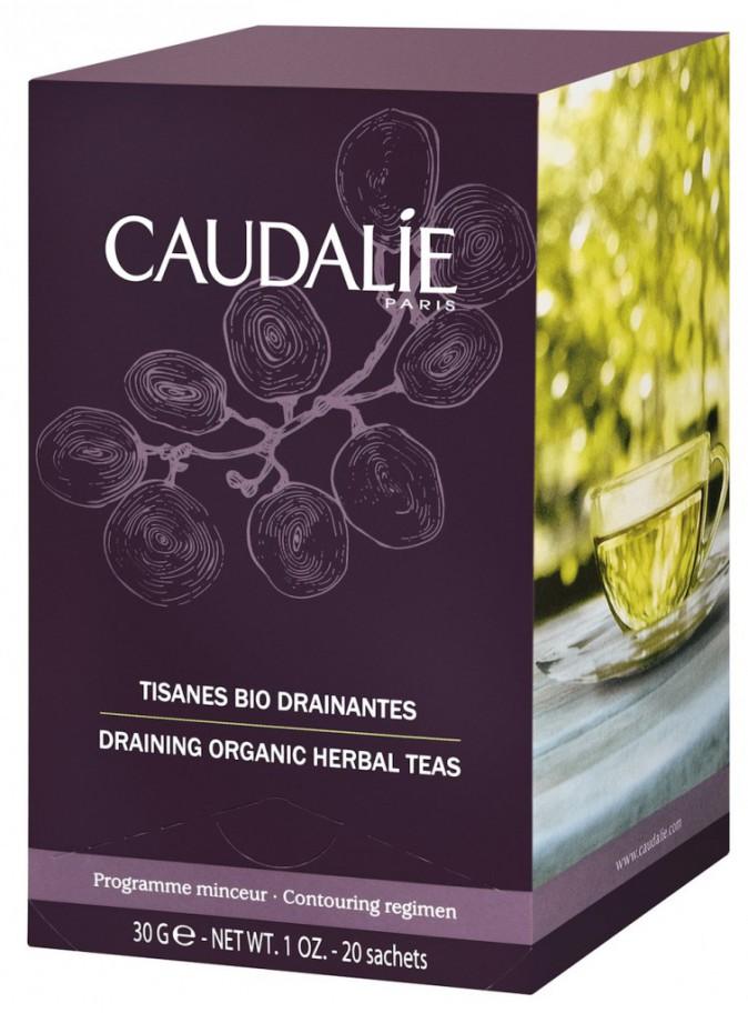Tisanes bio drainantes, Caudalie, 9€
