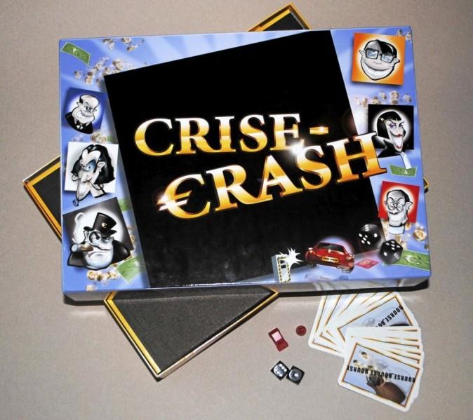 Jeu de société Crise-Crash sur crise-crash.com 49 €