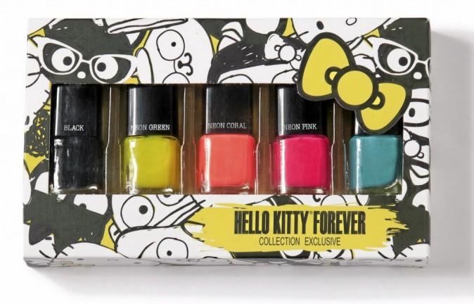 Vernis Hello Kitty Forever, en vente sur forever21.com 4,50 €