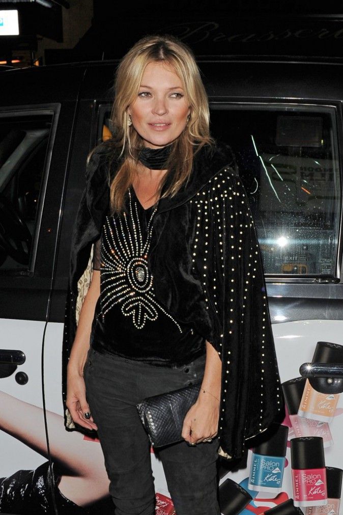 La british girl Kate Moss était évidemment de la party !