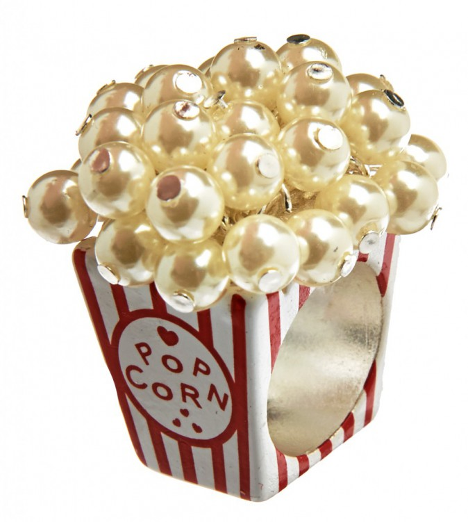 Bague Pop-corn, collection Katy Perry, Claire's, 9,99 €.