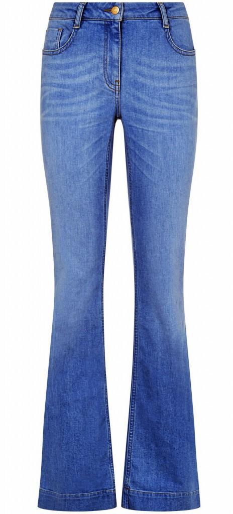 Jean flare, New Look, 29,99 €.