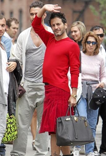 Marc Jacobs en juillet 2009