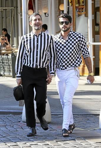 Marc Jacobs et son mec en mars 2013