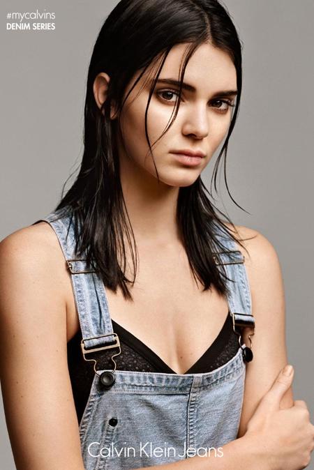 Photos : Kendall Jenner, belle boudeuse pour Calvin Klein !