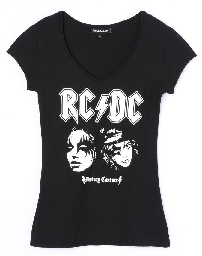 T shirt ACDC, Rebel Cashmere. 60€.