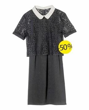 Une jolie robe en dentelle The Kooples qui passe de 180 € à 90 € !