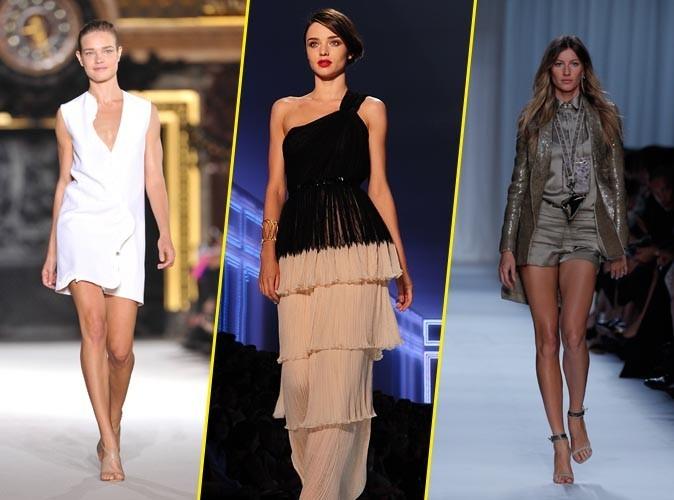Les tops défilent pour la Fashion Week !