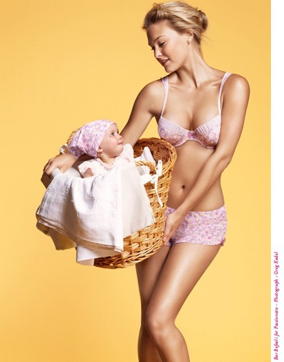 Le top aurait-elle envie de materner avec son nouveau chéri?