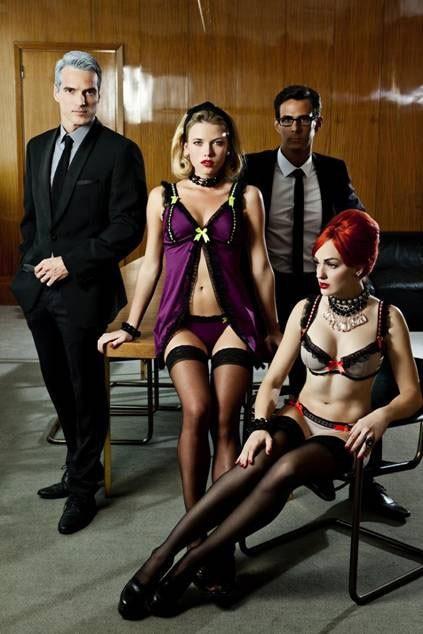 Lingerie : Soleil Sucré s'inspire du style rétro de Mad Men pour sa collection automne-hiver 2011/2012 !