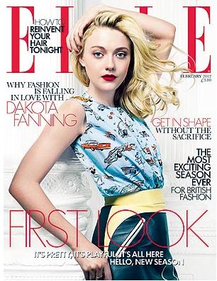 Janvier 2012 : glamour pour Elle