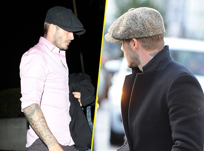 La fashion fixette de David Beckham ? C'est le béret !