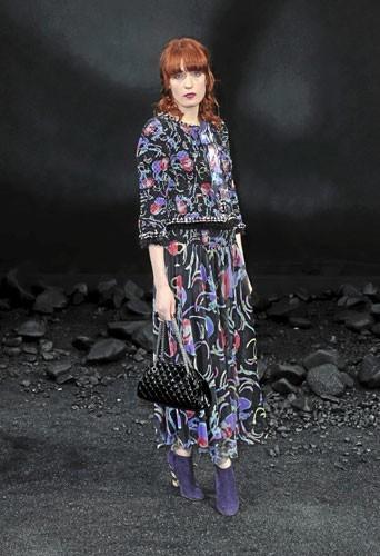 Look de star : Le sac Mademoiselle de Chanel de Florence Welch !