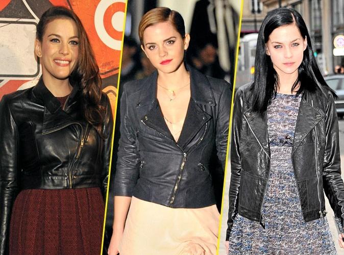 Look de star : Elles portent toutes... un perfecto !