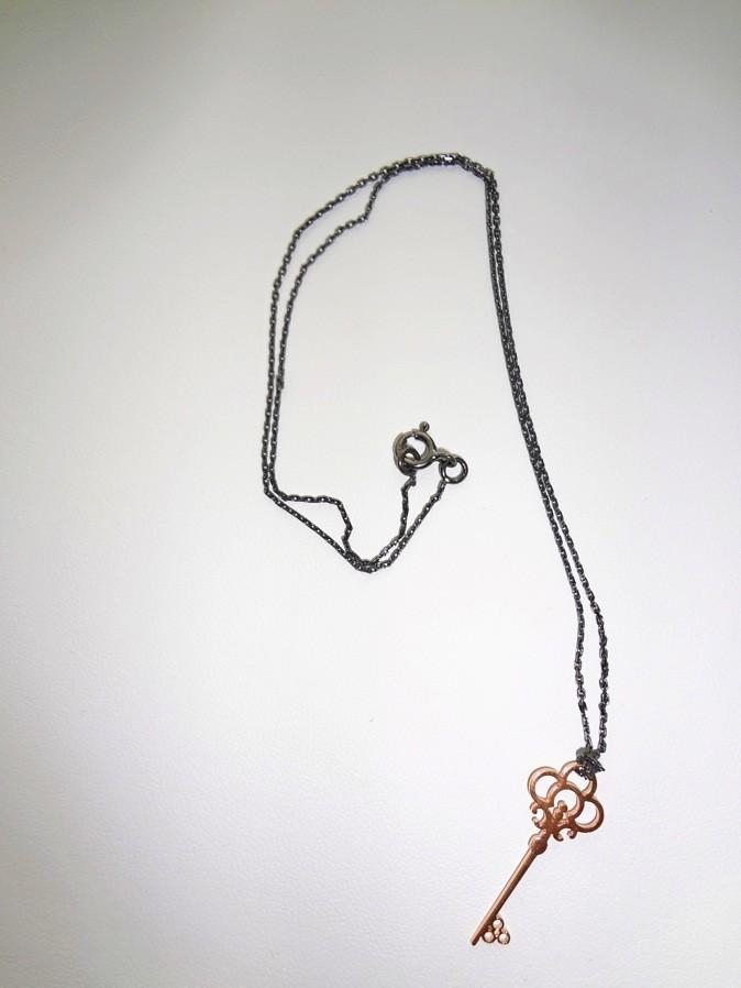 Collier clé Anna Zele, 39€