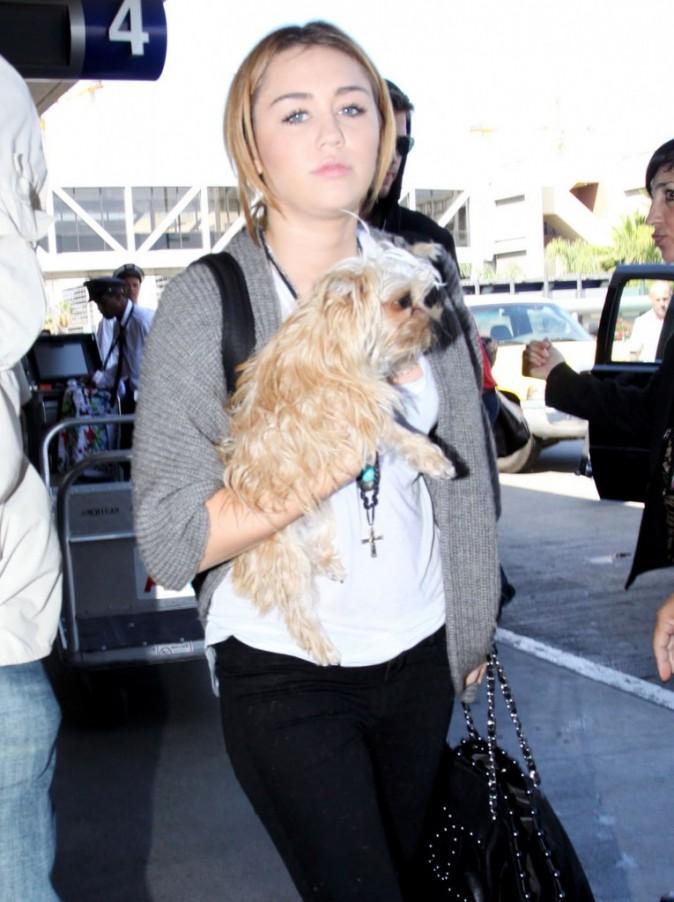 Miley Cyrus se laisse aller !
