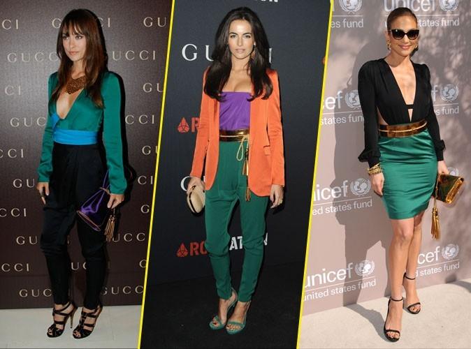 Look de stars : elles portent toutes... le color block Gucci !