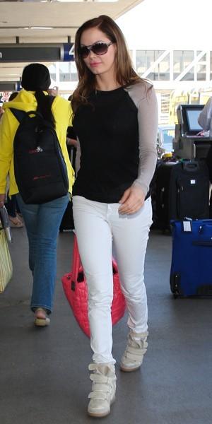 Rose McGowan à Lax en juin 2012