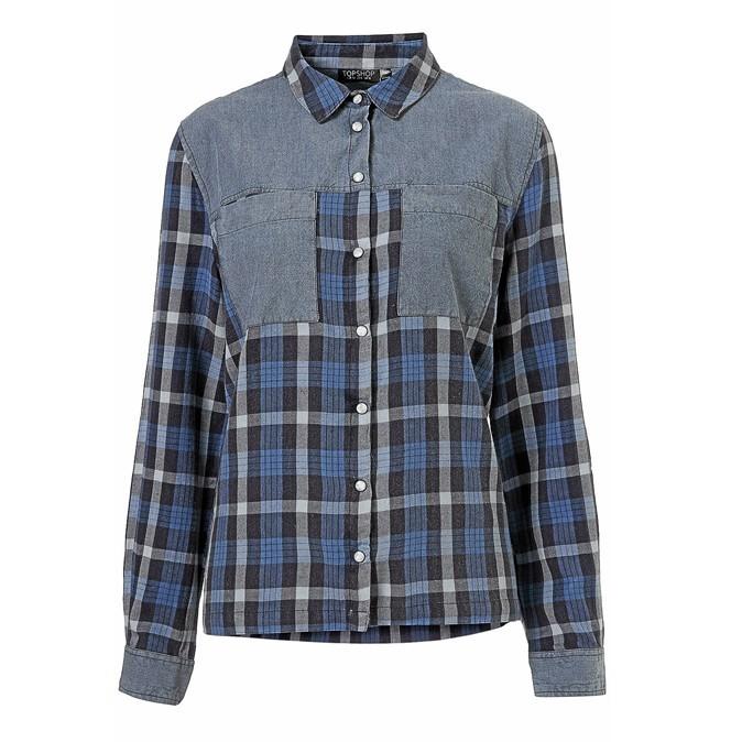 Chemise à carreaux, Topshop 47 €