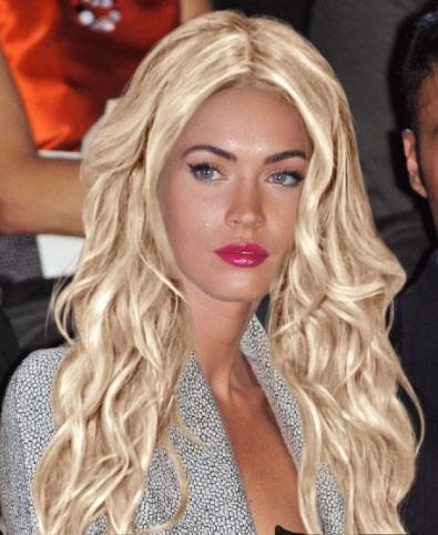 Megan Fox blonde (photomontage)