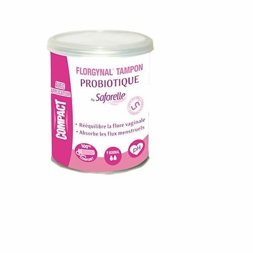 Florgynal tampon probiotique