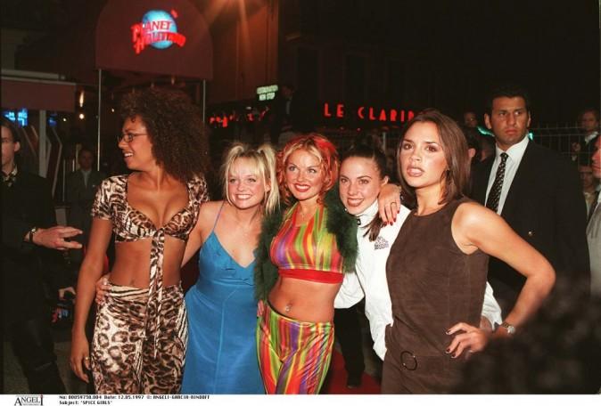 Le groupe en 1997 au Planet Hollywood