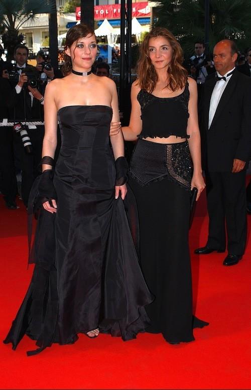 Marion Cotillard au Festival de Cannes 2002 !