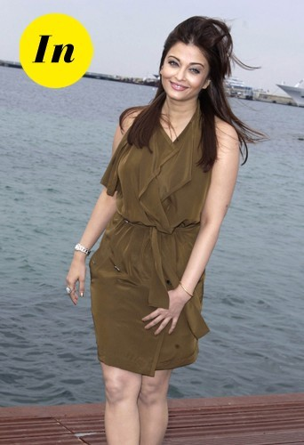 Aishwarya Rai en 2011 à Cannes.