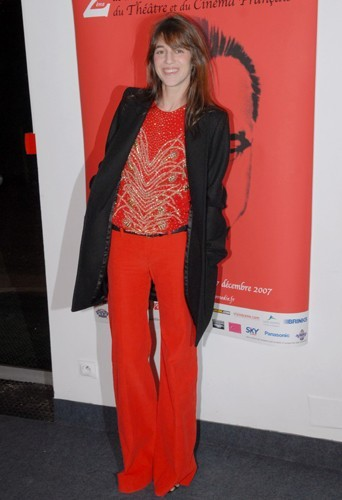Total look rouge inspiré des seventies !