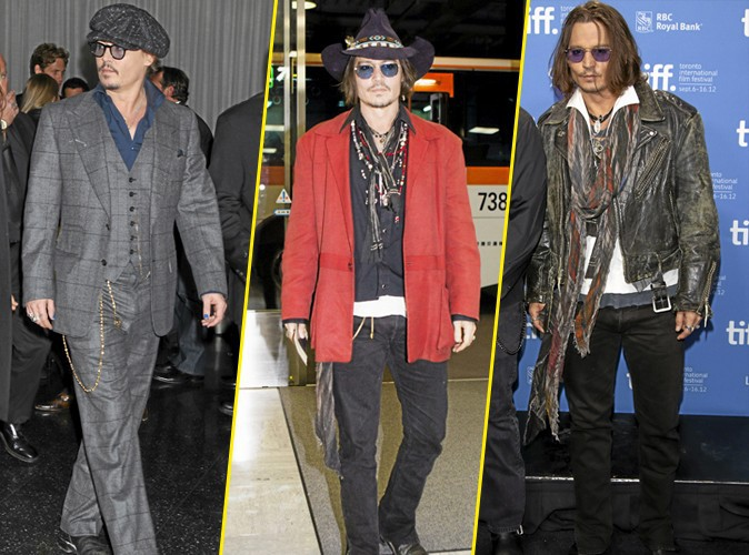 Looks De Johnny Depp Alerte Aux Fashion Bugs