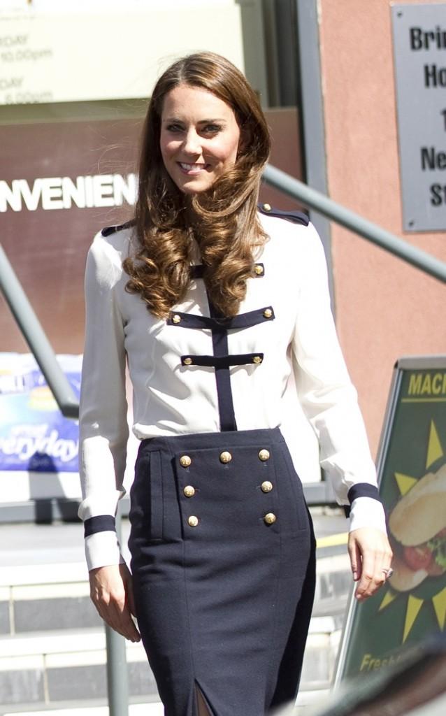 Kate Middleton en août 2011 à Birmingham !