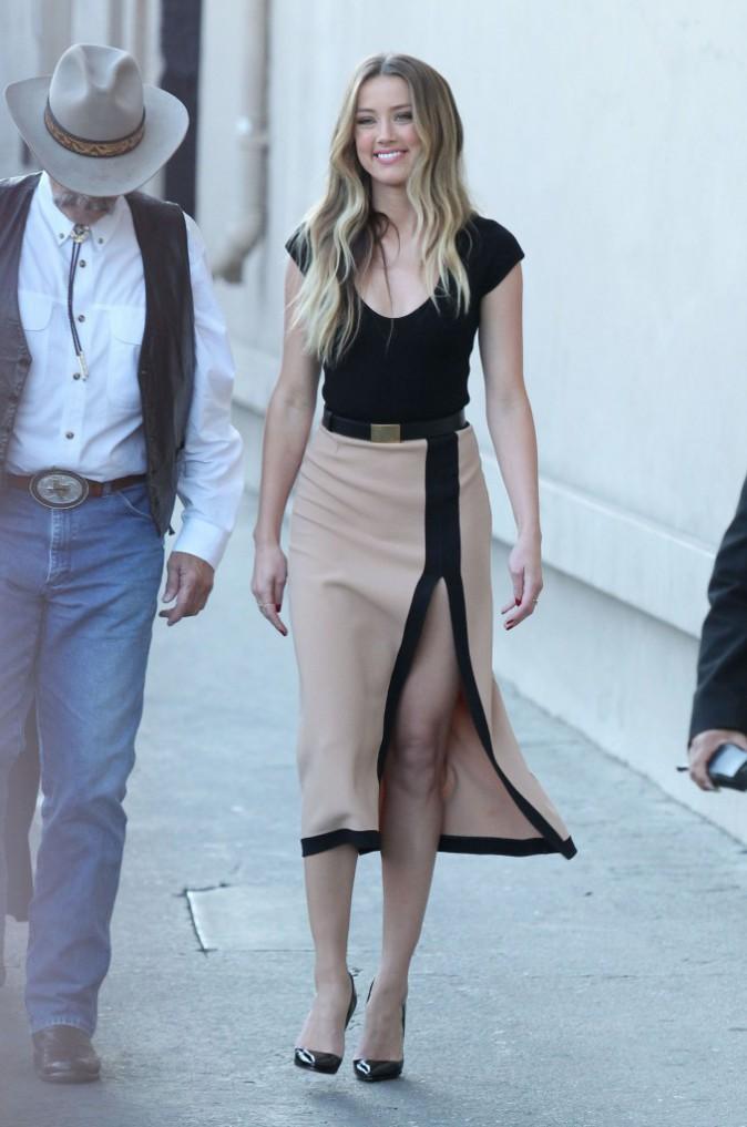 Amber Heard et sa robe MK